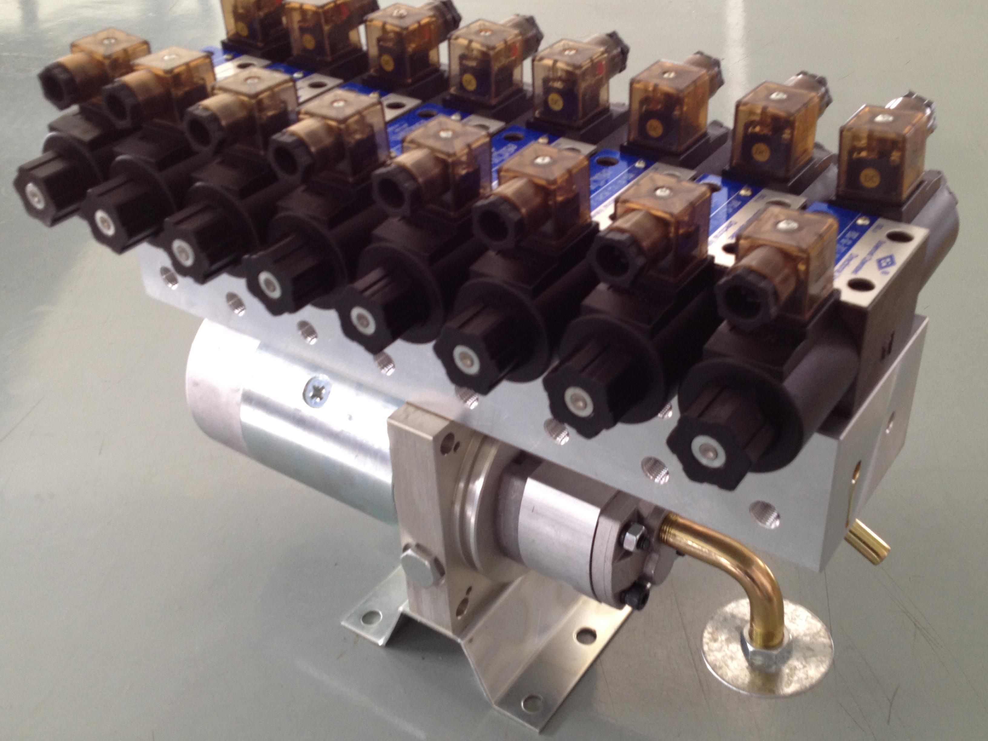 Porcellana il la cosa migliore Mini blocchi alimentatori di potenza idraulica sulle vendite
