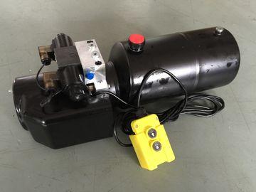 Pressione 18Mpa del lavoro di CC 12V 1.6KW con blocchi alimentatori di potenza idraulica rotondi del serbatoio di acciaio i mini per i carrelli elevatori