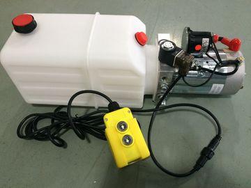 Blocchi alimentatori di potenza idraulica a semplice effetto orizzontali del motore di CC 12V mini per il rimorchio dello scarico