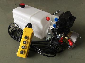 """"""" Blocchi alimentatori di potenza idraulica del porto di olio G3/8 mini, blocco alimentatore di potenza idraulica di CC 24v con il serbatoio dell'olio di plastica 8L"""