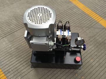 Gruppo idraulico a semplice effetto di CA 380V della Tabella di ascensore con il serbatoio di acciaio quadrato