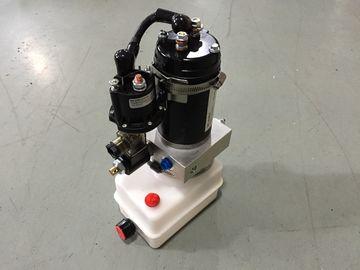 Blocchi alimentatori di potenza idraulica portatili del montaggio orizzontale mini 12V con il motore 0.8Kw a prova di fuoco
