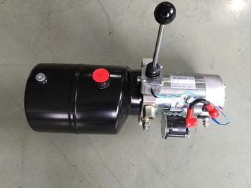 Blocchi alimentatori di potenza idraulica a semplice effetto 12vdc del carrello elevatore mini con il serbatoio di acciaio